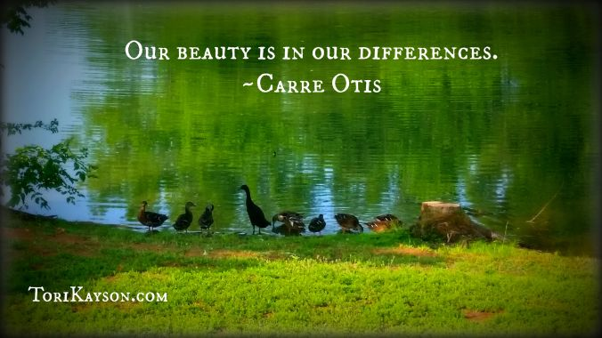 Beauty in our differences