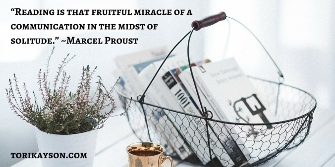 """Reading is that fruitful miracle of a"