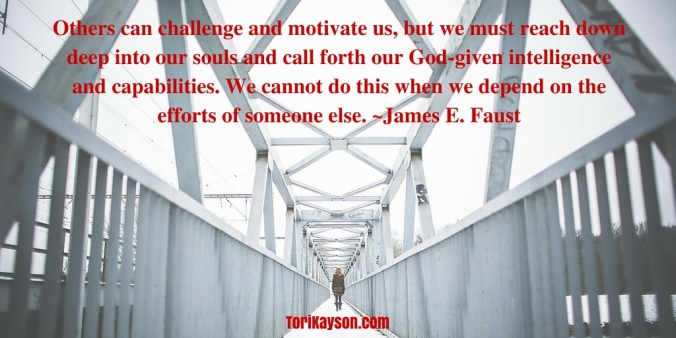 Others Can Challenge and Motivate