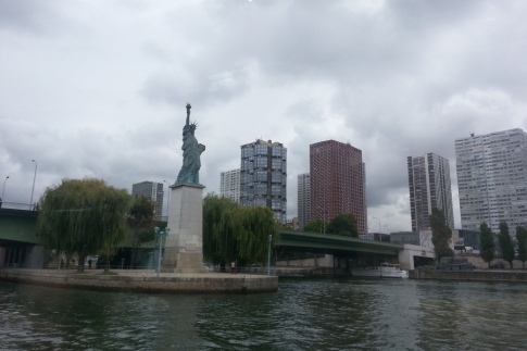 Status of Liberity in Paris
