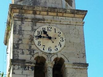 15. Clock in Cavtat