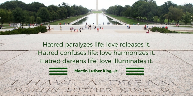 hatred - martin luther king
