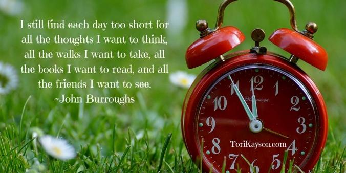I still find each day too short