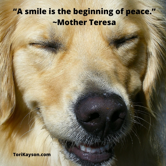 A smile is the beginning