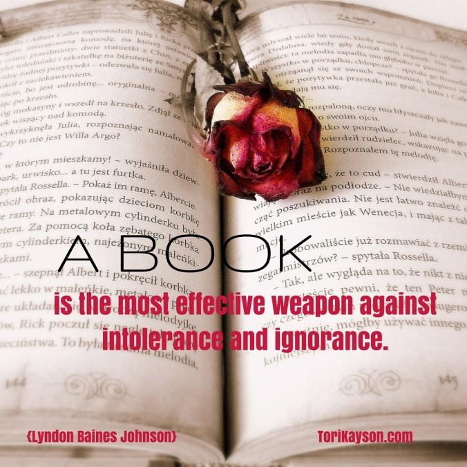 A Book intolerance ignorance