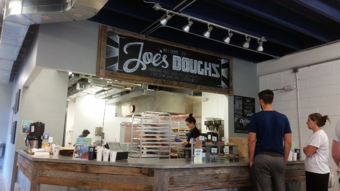 Joe's Doughs Excited about Eating by Ernie Hiers