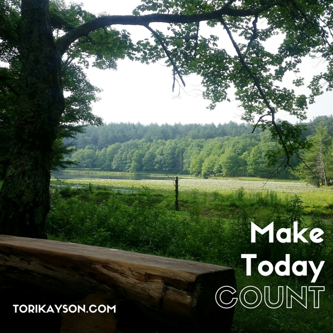 Make Today Count Tori Kayson