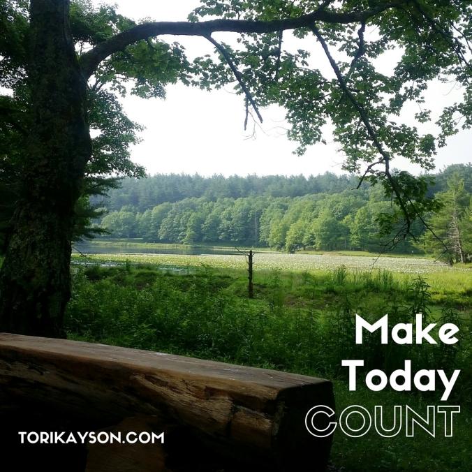 Make Today Count Tori Kayson