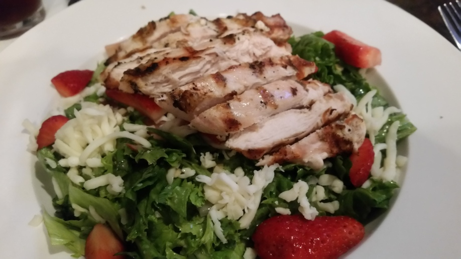 Berry Almond Chicken Salad Excited about Eating by Ernie Hiers