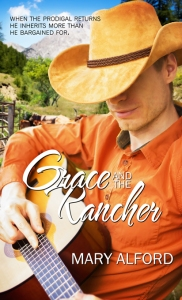 Mary Alford Grace and the Rancher Fiction Faith & Foodies Dora Hiers