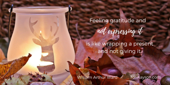 Thanksgiving gratitude Dora Hiers Tori Kayson