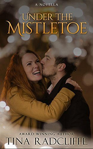 Under the Mistletoe Tina Radcliffe book review Fiction Faith & Foodies