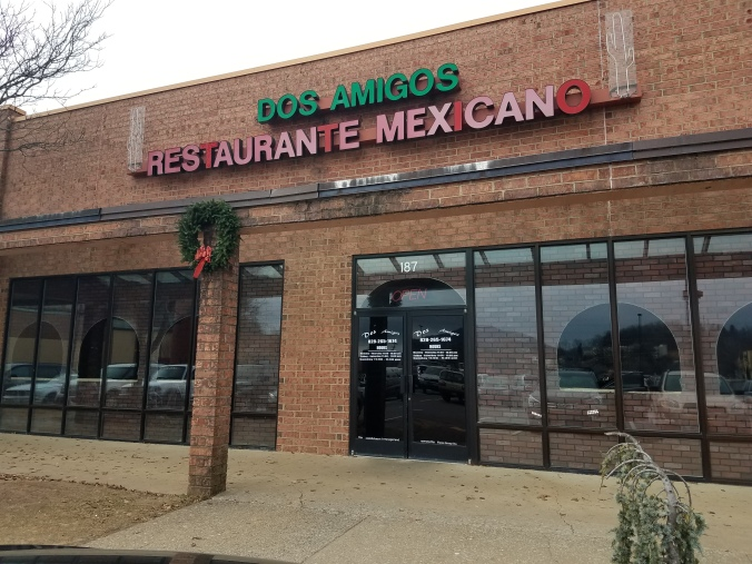 Dos Amigos Restaurante Mexicano Fiction Faith & Foodies Ernie & Dora Hiers