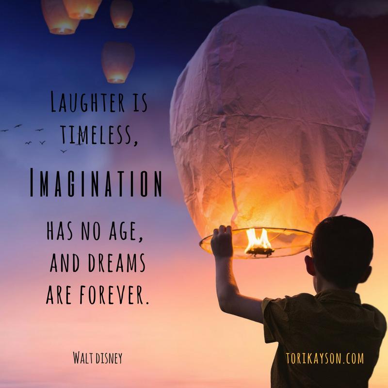 imagination, fiction faith & foodies, tori kayson