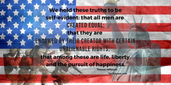 liberty, independence, tori kayson, inspirational quote