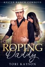 daddy, cowboy, romance novel cover, Tori Kayson