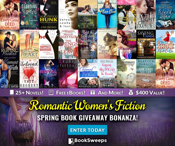 Spring Book Giveaway Bonanza, Book, Giveaway, Tori Kayson, BookSweeps