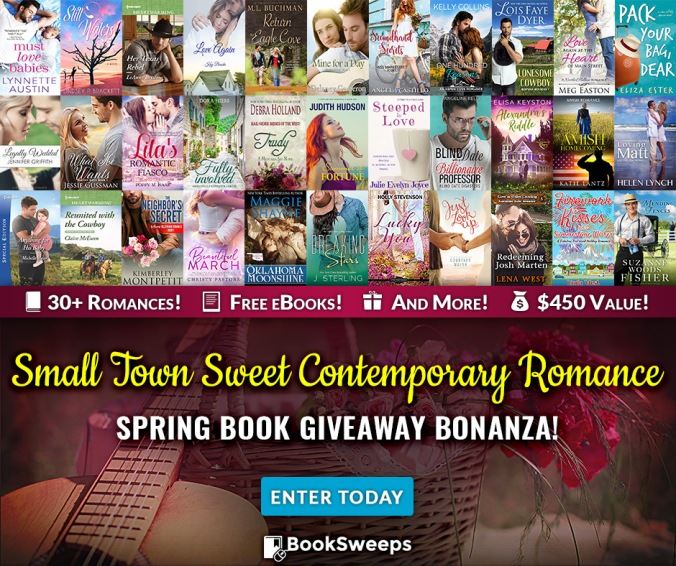 Small Town, Romance, BookSweeps, Giveaway,