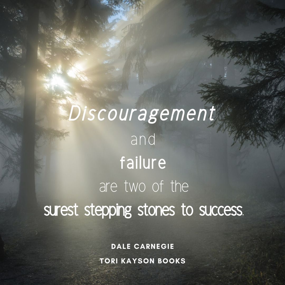Discouragement Stepping stone to success.png